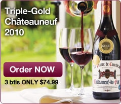 Triple-Gold Châteauneuf