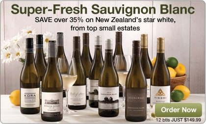 Fine New Zealand Sauvignon Blanc