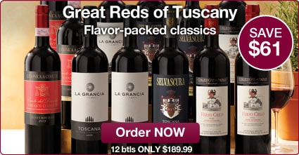 Great Reds of Tuscany