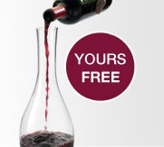 Free Decanter with orders over $159