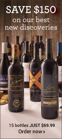 Save $150 on Top-Estate Wines